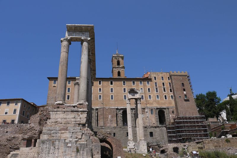 The Roman Forum, one of the best tourist attractions in Rome