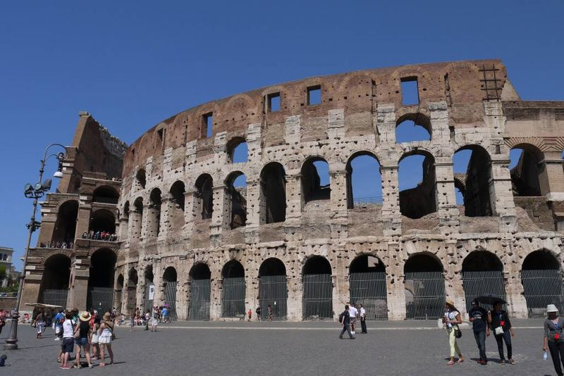 The Colosseum in Italy