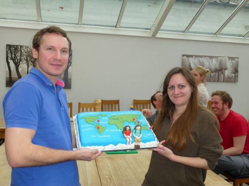 Our travel cake