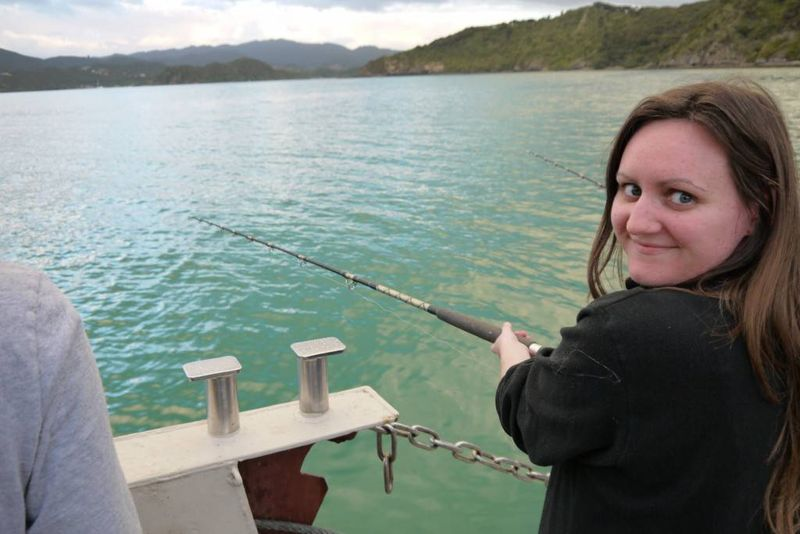 Fishing in the Bay of Islands