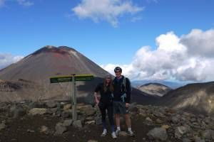 The View of Mount Doom from Mount Tongariro