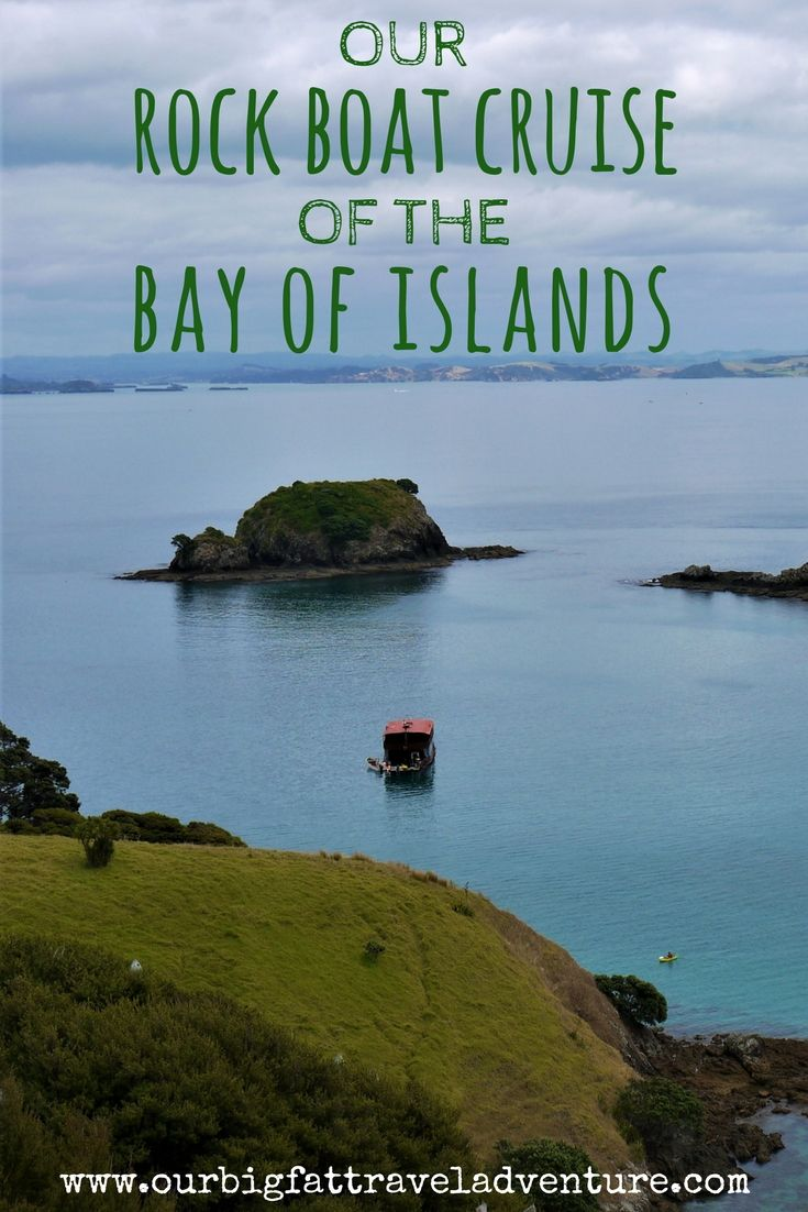our rock boat cruise of the bay of islands