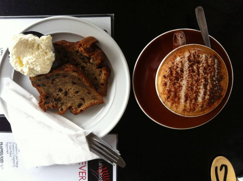 Coffee and Cake in Taupo