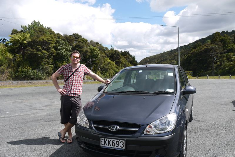 Our Rental Car in New Zealand
