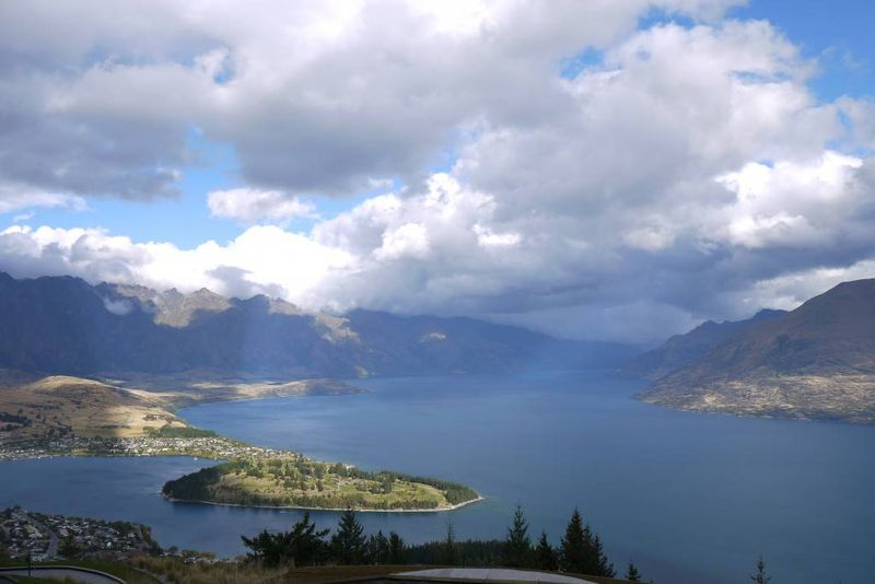 The view from Ben Lomand, Queenstown