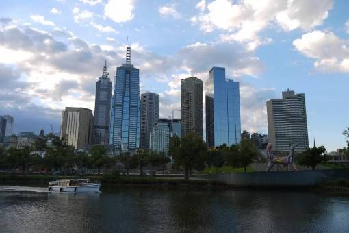 View from Melbourne SouthBank