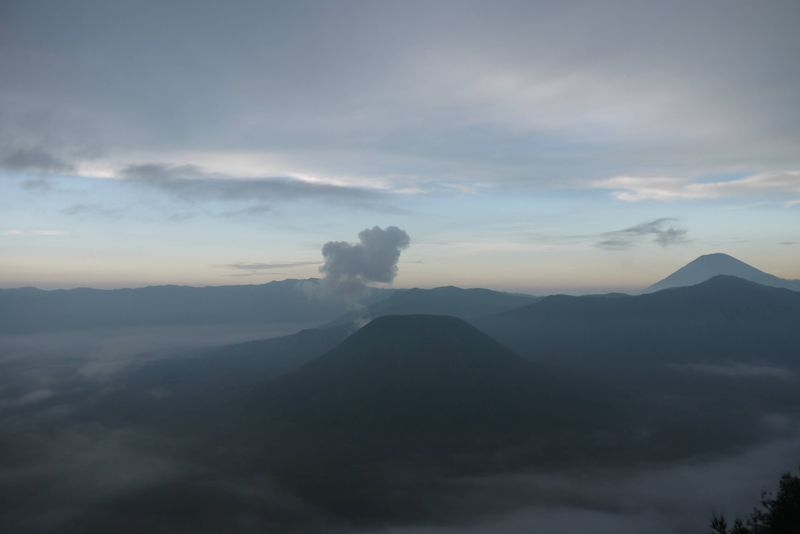 View of Mount Bromo