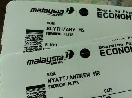 Frequent Flyer Plane Tickets