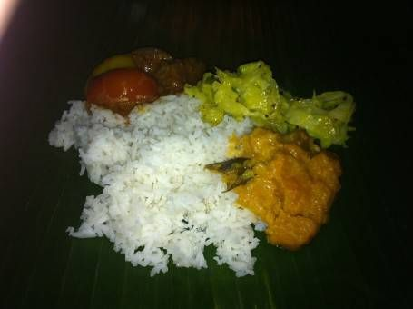 Amazing Indian Malay meal at Bike & Tours