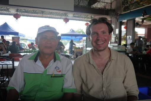 Andrew and Mr Chem, Malaysia