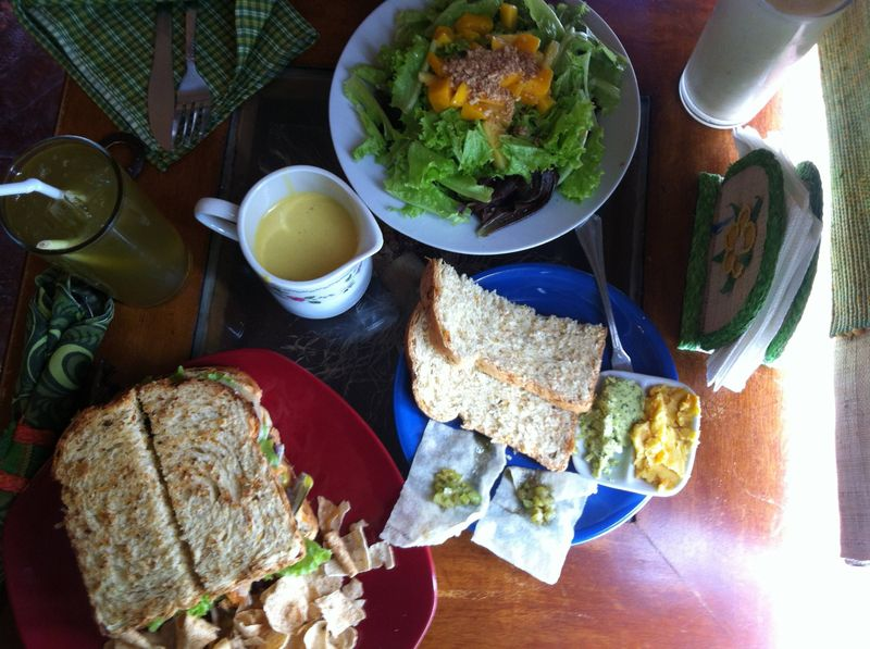 Lunch at The Buzz, Bohol