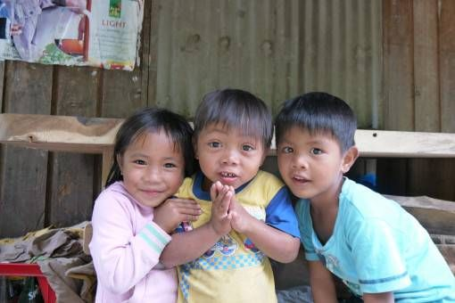 Cute Kids in the Philippines