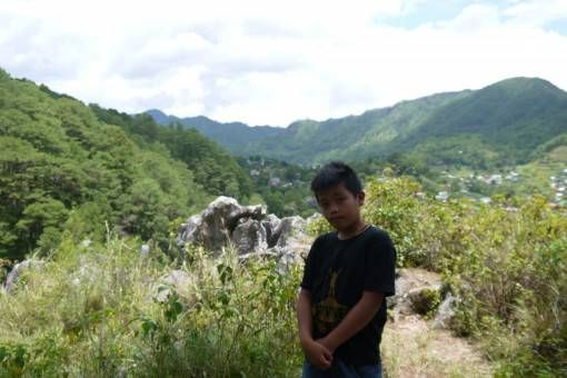 Our 11-Year Old Tour Guide in Sagada