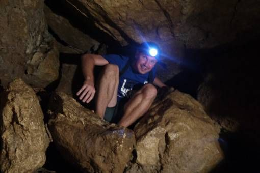 Andrew Caving in the Philippines