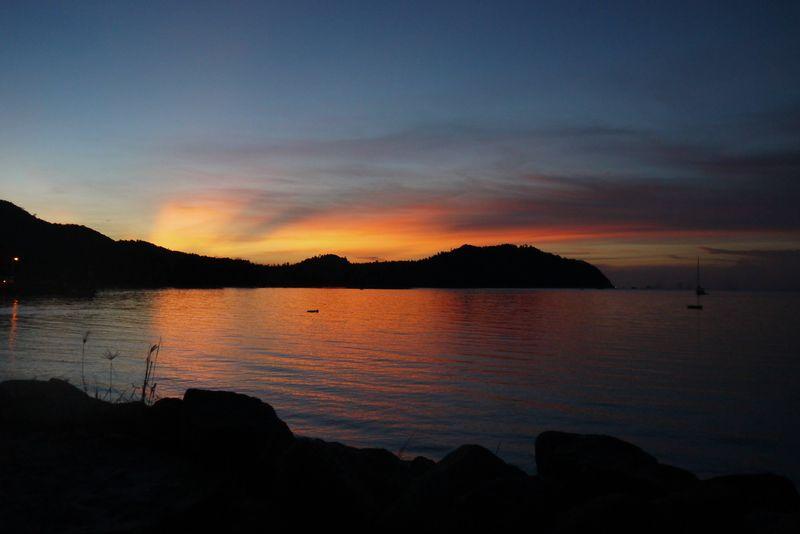 Sunset in Koh Phangan, Thailand