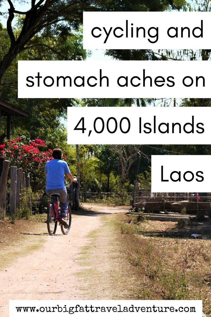 We spent a couple of weeks on Four Thousand Islands in Laos on Don Det, Don Khon and Don Khong cycling around and suffering from stomach aches