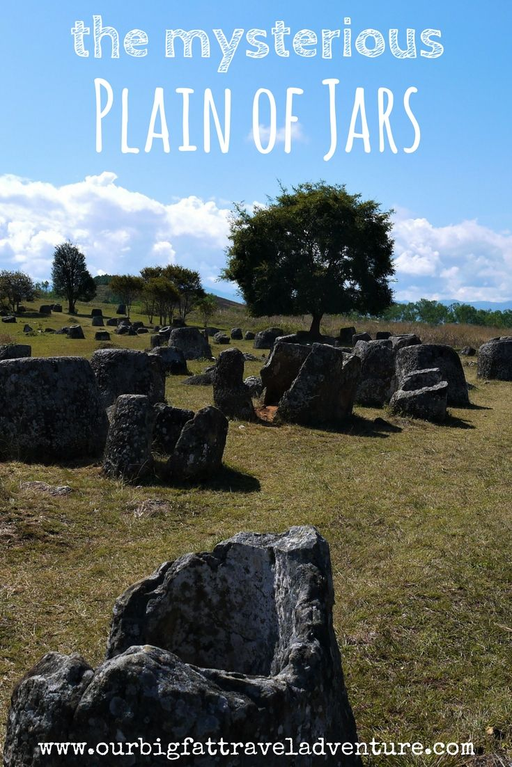 We took a trip out to visit the mysterious plain of jars in Laos - here's what we found out about where they came from.