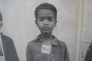 Photograph of a Boy at S21 Prison