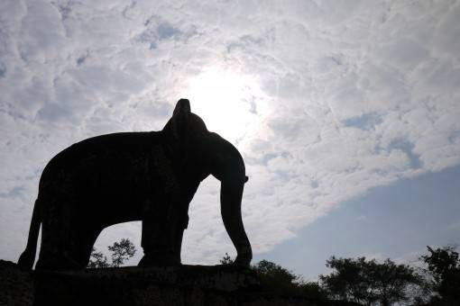 Elephant Statue at East Mebon Temple