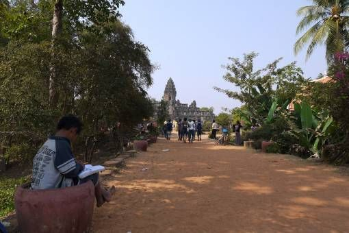 Bakong Temple in Cambodia