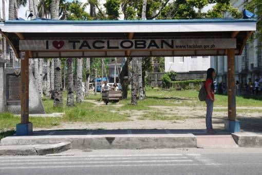 I Love Tacloban Sign in Leyte, the Philippines