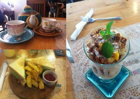Food From Sister Srey Cafe in Siem Reap, Cambodia