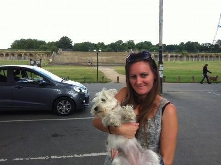 Me with Boo in Crystal Palace