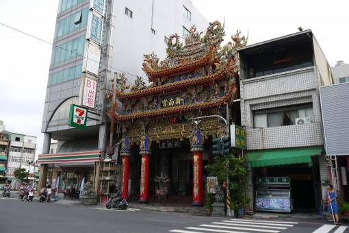 7-11 Next to a Temple in Tainan