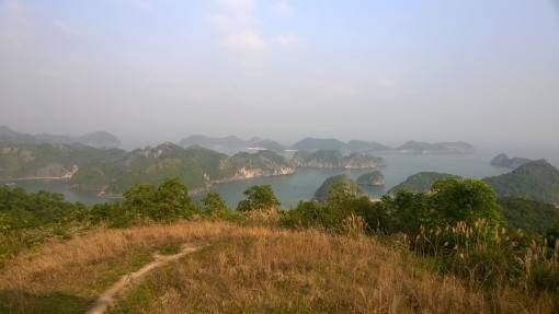 View from The French Fort on Cat Ba Island