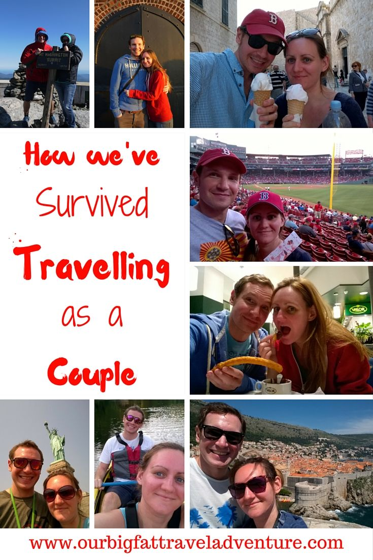 How we've survived travelling as a couple, Pinterest