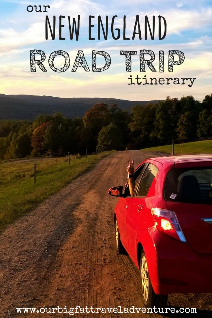 We're excited to be taking an eight-week road trip through New England this fall; here's our planned New England road trip itinerary.