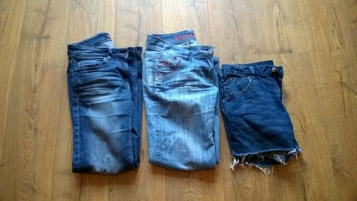 Amy's jeans and shorts for the USA