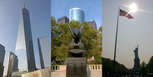 One, World Trade Center, WWII Memorial, Statue of Liberty, New York