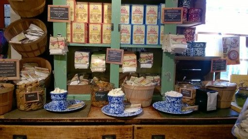 Tasters at the Vermont Country Store, USA