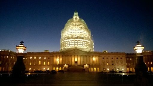 The Capitol Building in Washington DC, USA