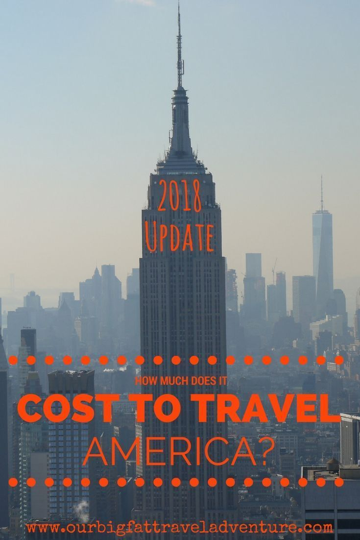 how much does it cost to travel America?