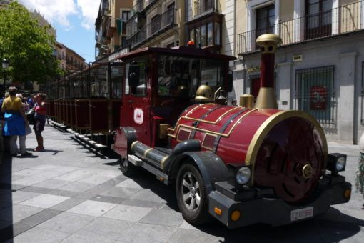 Tourist Train in Toledo, Spain
