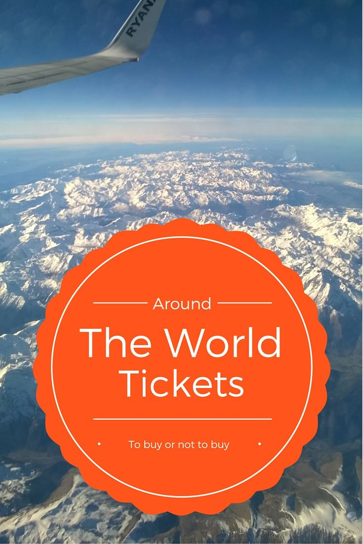 Round the world tickets, to buy or not to buy