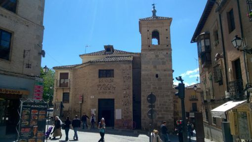 The Church of El Salvador in Toledo
