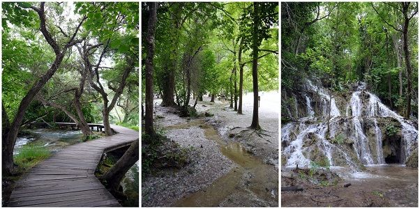 Waterfalls and Trails in Krka National Park