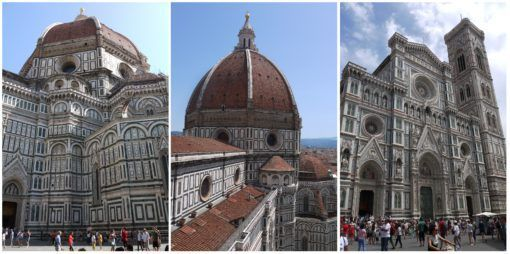 The Duomo and Cathedral in Florence, Italy