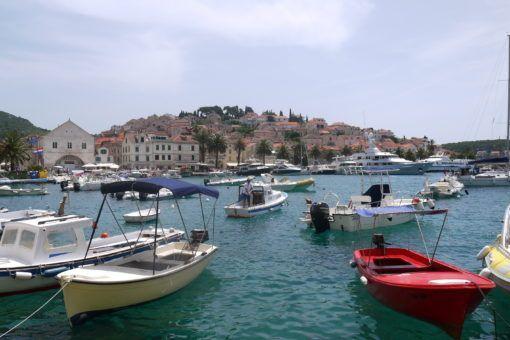 Hvar City Harbour, Croatia