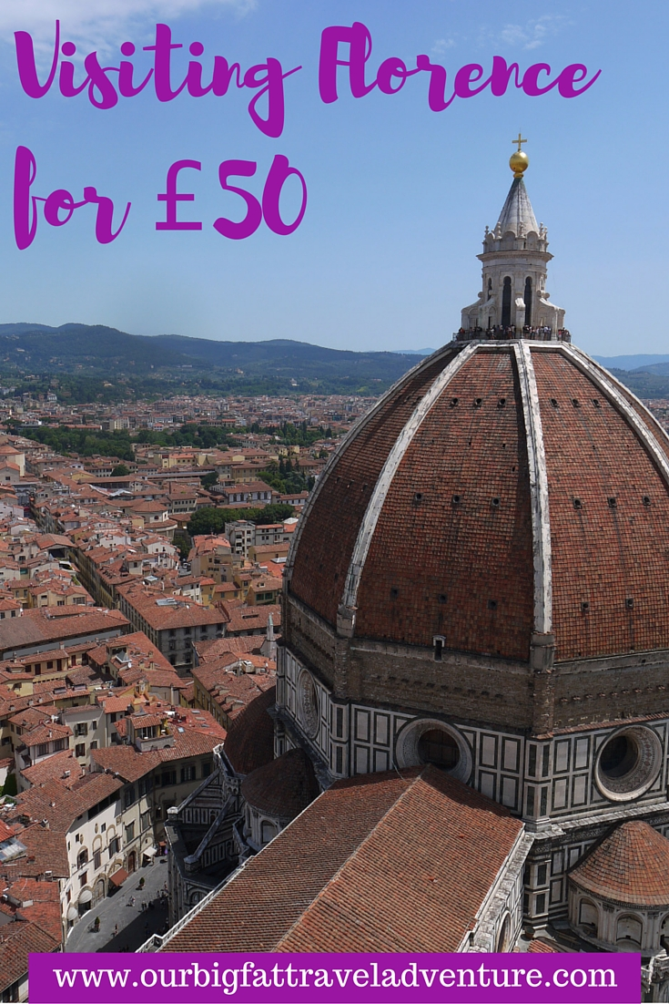 Visiting Florence for £50 Pinterest