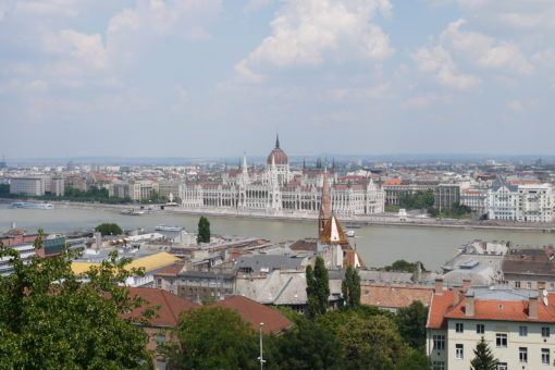 View over Budapest from Fisherman's Bastion