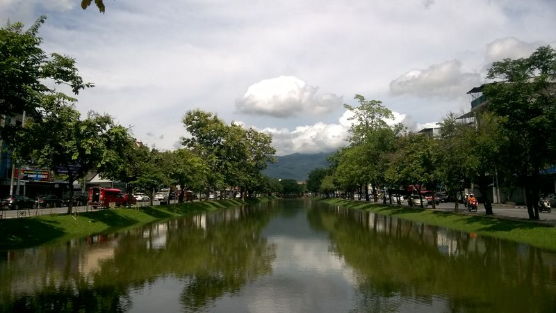 Chiang Mai Moat and Doi Suthep Mountain