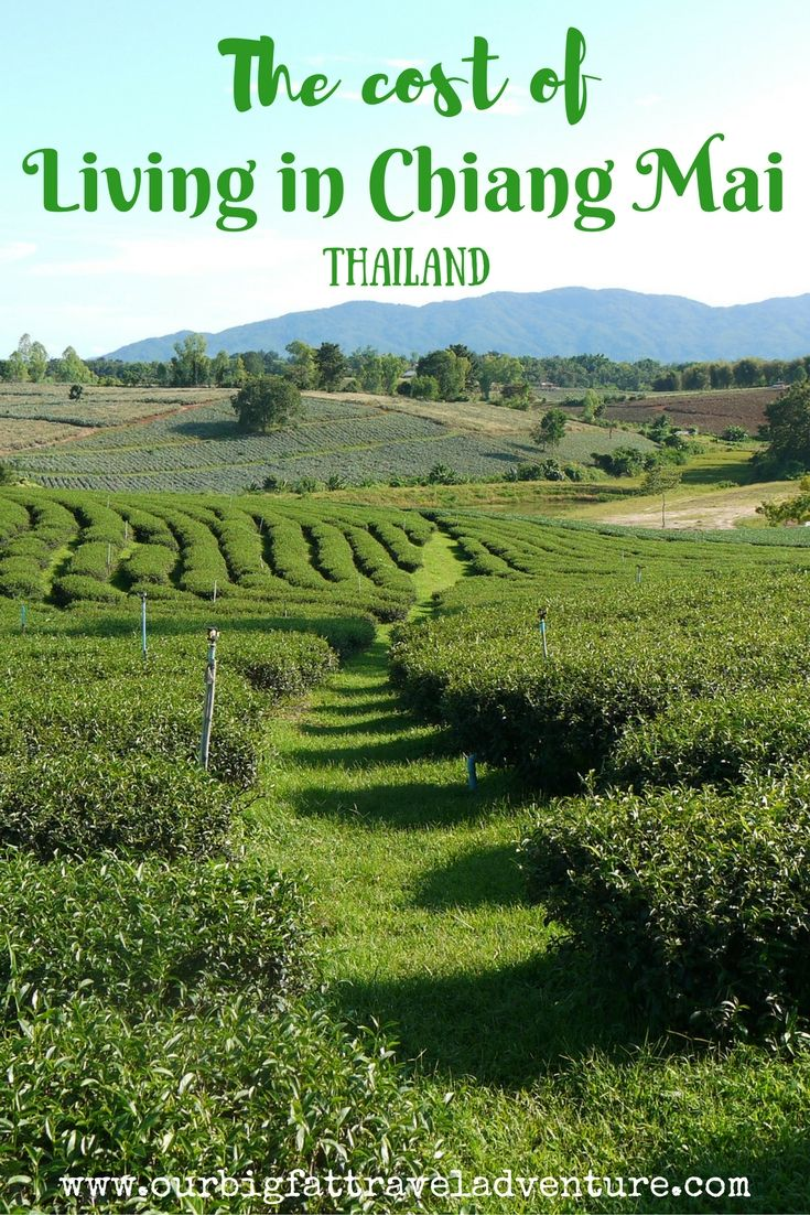 the cost of living in Chiang Mai Pinterest Poster