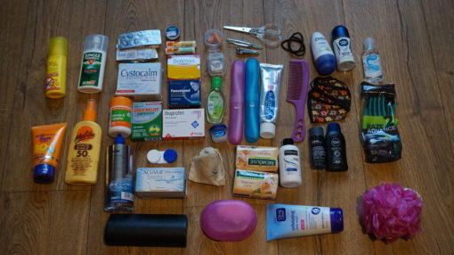 Our vast supply of toiletries