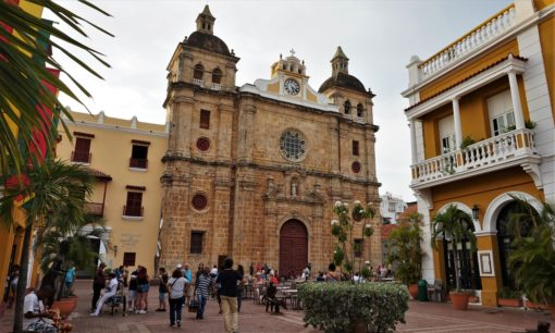 Another church in Cartagena, Colombia