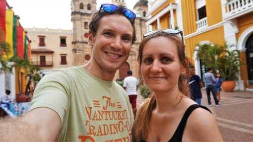 Us in Cartagena, Colombia