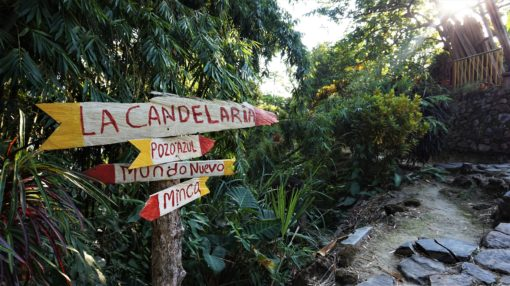 Mundo Nuevo is a short hike from La Candelaria, Minca